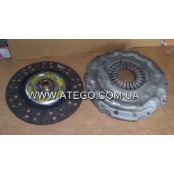 Комплект сцепления Mercedes Atego (362 мм, корзина + диск сцепления). VALEO