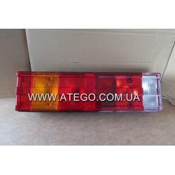Фонарь задний Mercedes Atego с рифленым стеклом (под фишку). SERTPLAST