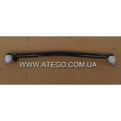 Продольная рулевая тяга Mercedes Atego (9704600705, L-846 мм). FEBI.