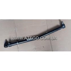 Продольная рулевая тяга Mercedes Atego (9704600705, L-846 мм). LEMFORDER