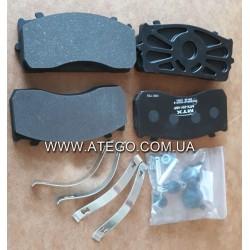 Тормозные колодки Mercedes Atego 29115 (на колеса 17,5). MTX