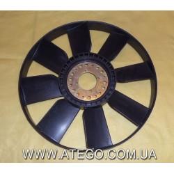 Вентилятор радиатора Mercedes Atego.