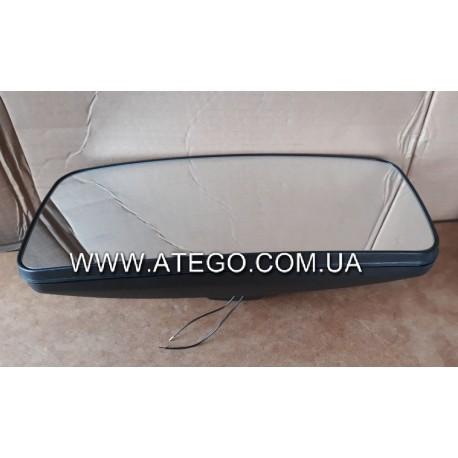 Основное зеркало Mercedes Atego с подогревом и ручным управлением (380*170, до 2005 года). MEGA