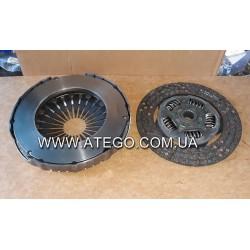 Комплект сцепления Mercedes Atego (362 мм, корзина + диск сцепления). LUK