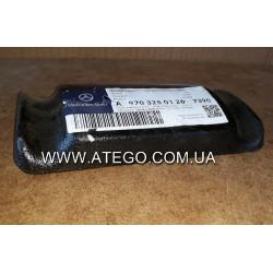 Плита под стремянки задней рессоры Mercedes Atego 9703250126. MB OE