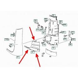 Проставка дефлектора Mercedes Atego II 9738840422 левая. Турция