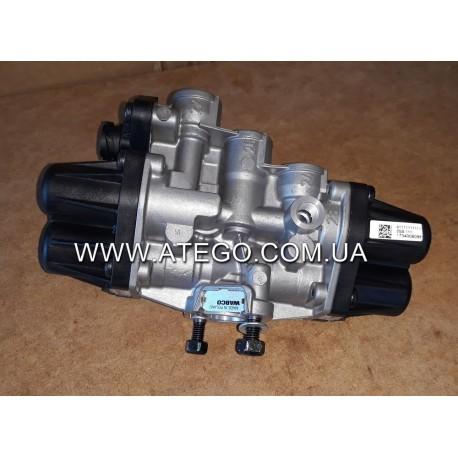 Четырехконтурный защитный клапан Mercedes Atego 9347050050. WABCO
