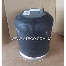 Пневморессора Mercedes Atego 4757NP29 со стальным стаканом (воздух смещен). CONTITECH