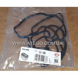 Прокладка поддона Mercedes Atego резиновая (на 4 цилиндровый двигатель, на пластиковый поддон). ELRING
