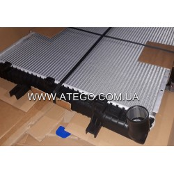 Радиатор охлаждения Mercedes Atego 9705000503. NISSENS