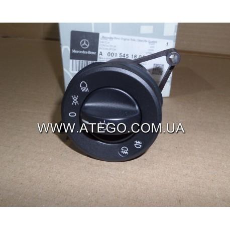 Переключатель света фар Mercedes Atego 0015451804. Оригинал