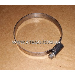 Хомут крепления патрубка воздушного фильтра Mercedes Atego (60-80). Оригинал