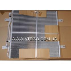 Радіатор кондиціонера Mercedes ATEGO 9705000054. NISSENS