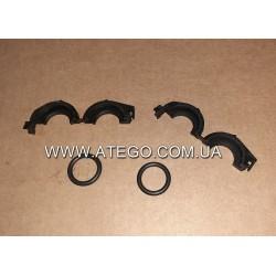 Комплект кріплення патрубків радіатора пічки Mercedes Atego 0149977545. Оригінал