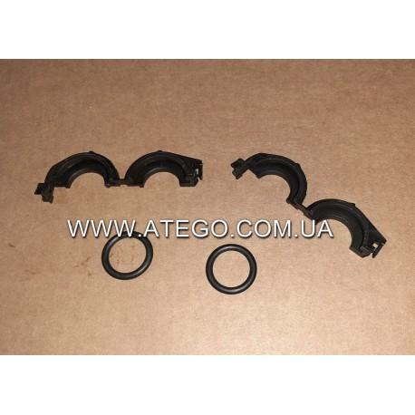 Комплект крепления патрубков радиатора печки Mercedes Atego 0149977545. Оригинал