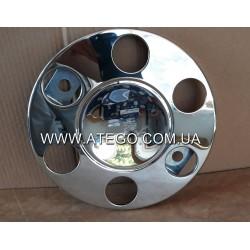 Защитный колпак колесного диска Mercedes Atego хромированый  (на колеса 17,5). Турция