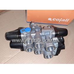 Четырехконтурный защитный клапан Mercedes Atego 9347050050. COJALI