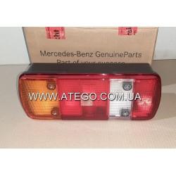 Задний фонарь Mercedes Atego 5-секций левый под фишку. Оригинал
