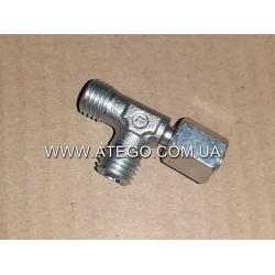 Трійник гідравлічної системи перекидання кабіни Mercedes Atego N000000006211. Оригінал