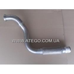 Приемная выхлопная труба Mercedes Atego EURO 4/5 9704901619 (на 4-цилиндровый двигатель). Турция