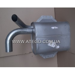 Глушитель выхлопной системы Mercedes Atego 9704900001 (на 4-цилиндровый двигатель). VANSTAR
