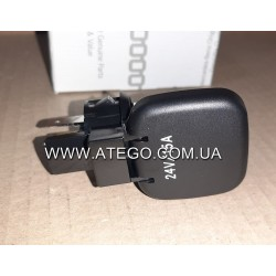 Розетка прикуривателя 24V Mercedes Atego 0115406081. Оригинал