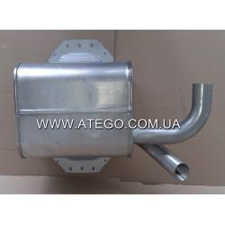 Глушитель выхлопной системы Mercedes Atego 9704900001 (на 4-цилиндровый двигатель). Турция