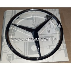 Эмблема на решетку радиатора Mercedes Atego 9678170016. Оригинал