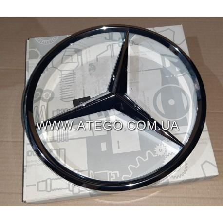 Эмблема на решетку радиатора Mercedes Atego 9738170016. Оригинал