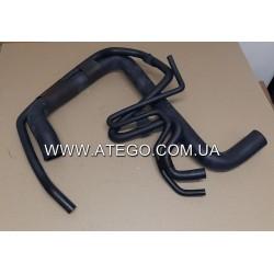 Патрубок системы охлаждения двигателя Mercedes Atego 9705012582. Турция