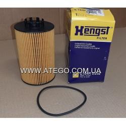 Масляный фильтр Mercedes Atego Euro6 (на 4-цилиндровый двигатель). HENGST