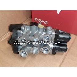Четырехконтурный защитный клапан Mercedes Atego 9347050050. PROVIA