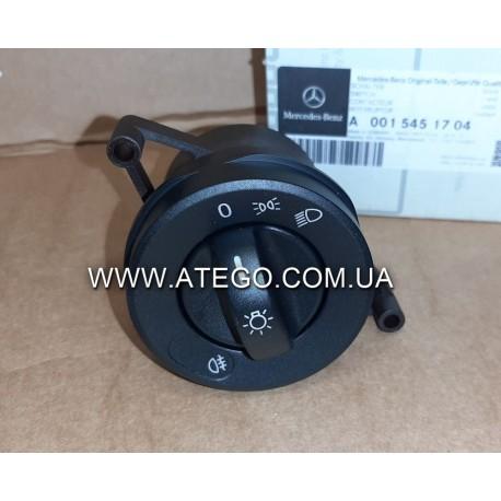 Переключатель света фар Mercedes Atego 0015451704. Оригинал