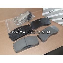 Тормозные колодки Mercedes Atego (на колеса 17,5). PROFIT