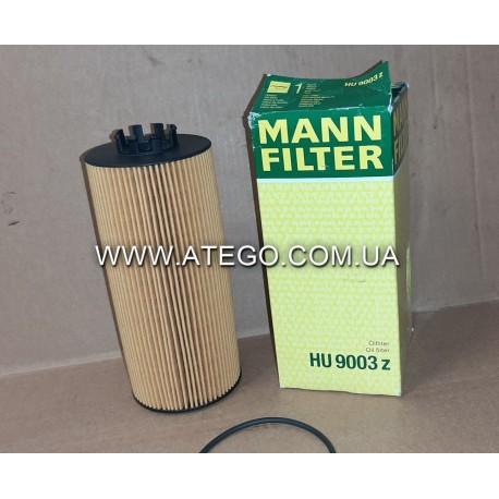 Масляный фильтр Mercedes Atego Euro6 (на 6-цилиндровый двигатель). MANN