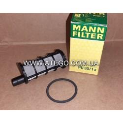 Дополнительный топливный фильтр Mercedes Atego Euro6 9360900551. MANN
