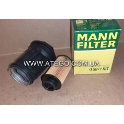Фильтр системы Adblue Mercedes Atego, AXOR, Actros 0001420289. MANN
