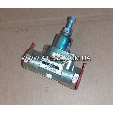 Перепускной клапан пневмосистемы Mercedes Arego, Axor, Actros 0054296144 (10bar, M22). HALDEX