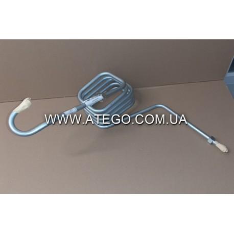 Металлическая воздушная трубка от компрессора Mercedes Atego 9704200033 (змеевик). Оригинал