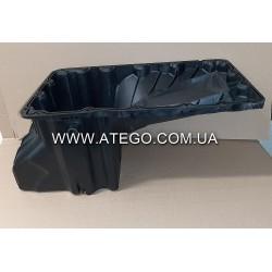 Масляный поддон двигателя Mercedes Atego 9040103813 (пластиковый, на 4-цилиндровый двигатель). Турция