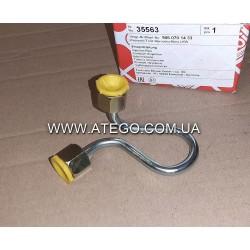 Топливная трубка высокого давления форсунки Mercedes Atego 9060701433. FEBI