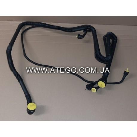 Комплект трубок системы охлаждения двигателя Mercedes Atego Euro6 9675000005. Оригинал
