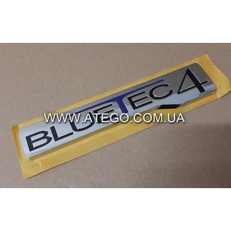 "Эмблема Mercedes Atego ""Bluetec4"". Оригинал"
