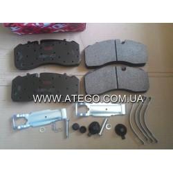 Тормозние колодки Mercedes Atego 29093 (на колеса 19,5). TRW