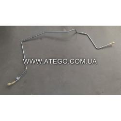 Металлическая воздушная трубка от компрессора Mercedes Atego 9704206031 (до змеевика). Оригинал