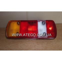 Задний фонарь Mercedes Atego 5-секций левый с фишкой. DEPO